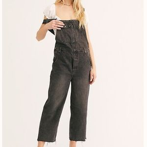 NWT - Free People black overalls